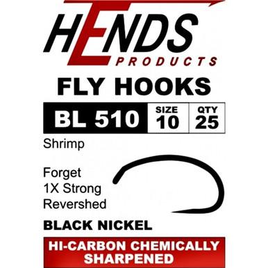 Hends BL510 Shrimp Fly Tying Hook-