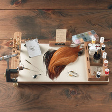 Portable Fly Tying Work Center