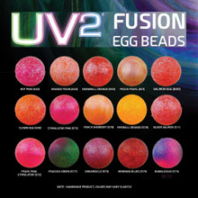 Spirit River UV2 Fusion Egg Beads