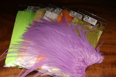 Hareline Pastel UV2 Flatwing Saddles