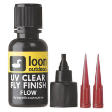 Loon Outdoors UV Clear Fly Finish Flow (1/2 Ounce Bottle)