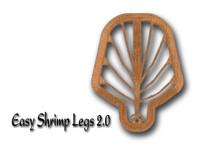 Easy Shrimp Legs (Dirty Brown)