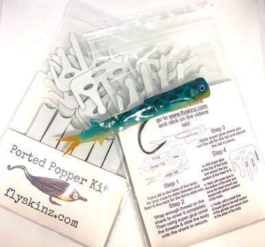 FlySkinz Ported Popper Kit