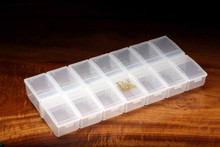 Hareline 14 Individual Compartment Box