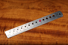 Hareline Bead Sizer and Measuring Ruler