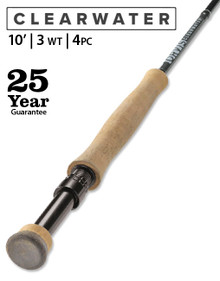Orvis Clearwater 10' 3 Weight Fly Rod