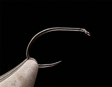 Kona BC1 Curved Nymph Scud Pupa Barbless Fly Tying Hook