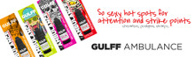 Gulff Ambulance Color UV Resin- 15ml