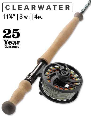 "Orvis Clearwater Spey 3 Weight 11' 4"" Fly Rod"