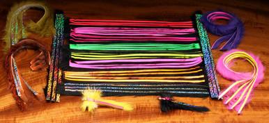 Hareline Bling Rabbit Strips