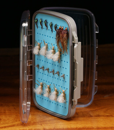 Hareline Medium FLICON Double Sided Silicone Fly Box