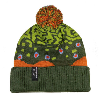 Rep Your Water Brook Trout Skin Knit Hat 2.0