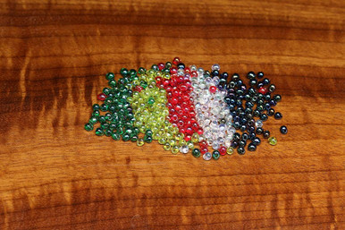 Hareline Hump Back Glass Beads