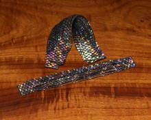 Hareline Barred Rainbow Shimmer Legs