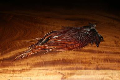 Hareline Rooster Saddles (Brown)