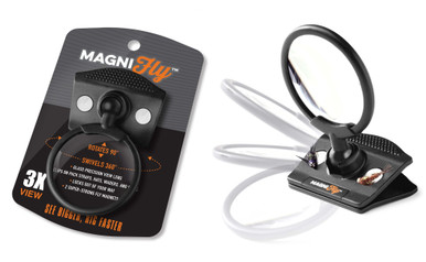Magnify Clip On Glass Magnifier