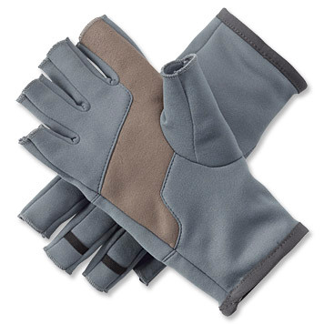 Orvis Fingerless Stretch Fleece Gloves
