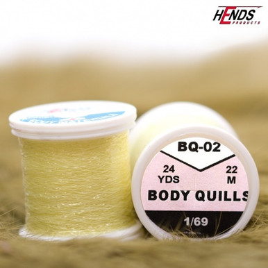 Hends Body Quills (Lt. Yellow Olive)