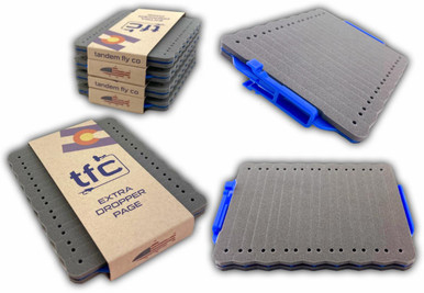 Tandem Fly Company Extra Flypatch Dropper Page for Box or Clip Use