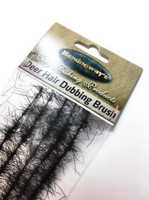 Hemingway's Deer Hair Dubbing Brushes (Black)
