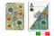 Fiori plastic playing cards by DA VINCI - Poker sized, Large index