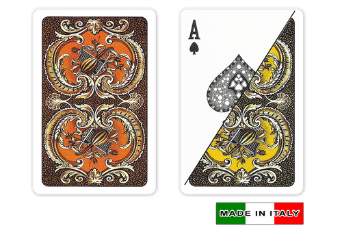 Harmony plastic playing cards  by DA VINCI, Bridge size, Normal index cards