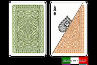 Palemo plastic playing cards by  DA VINCI - Bridge size, Normal index