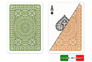 Palermo plastic playing cards by  DA VINCI - Poker size, Normal index cards