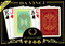 Persiano plastic playing cards by DA VINCI - Poker size, Large index cards in retail packaging