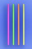 "JUMBO STRAW 7.75"" - NEON - 30/250 (7,500/case)"