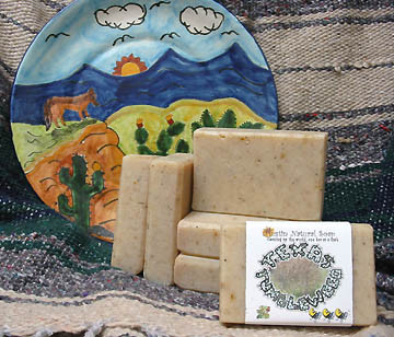 Texas Tumbleweed soap with Cocoa Butter.