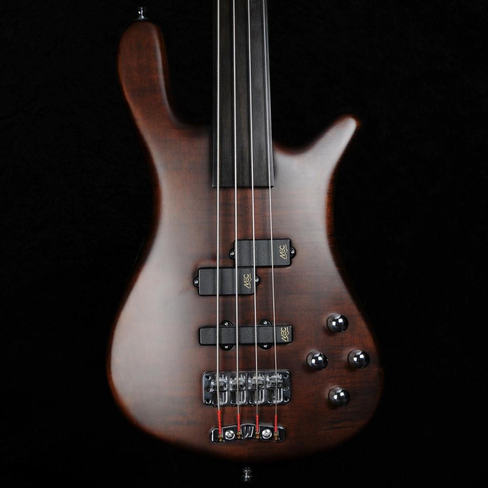 a35372cd5c Warwick Streamer LX 4-String Fretless Bass Guitar in Antique Tobacco ...