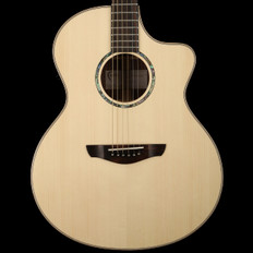 Faith Neptune Cutaway Electro Acoustic in Natural HiGloss with Hard Case