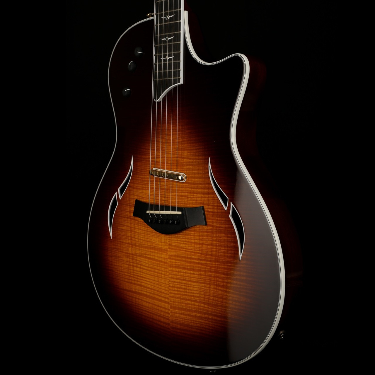 Taylor T5-C1 Custom Flamed Maple Top in Tobacco Sunburst with OHSC - Used