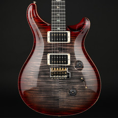 PRS Wood Library Custom 24 in Charcoal Cherry Burst with Pattern Thin Neck, 85/15 Pickups #225623