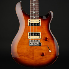 PRS SE Custom 24 in Tobacco Sunburst with Gig Bag