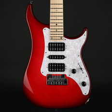 Vigier Excalibur Supra in Clear Red, Maple Neck with Hard Case #170044