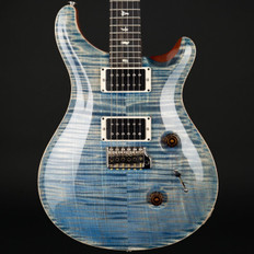 PRS Custom 24 10 Top Ltd in Faded Blue Jean with Pattern Thin Neck, 85/15 Pickups #236846