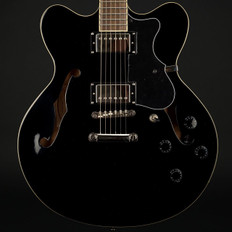 Hofner Verythin HCT Semi-Acoustic in Black