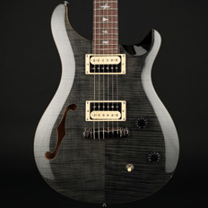 PRS SE Custom 22 Semi-Hollow in Gray Black with Gig Bag