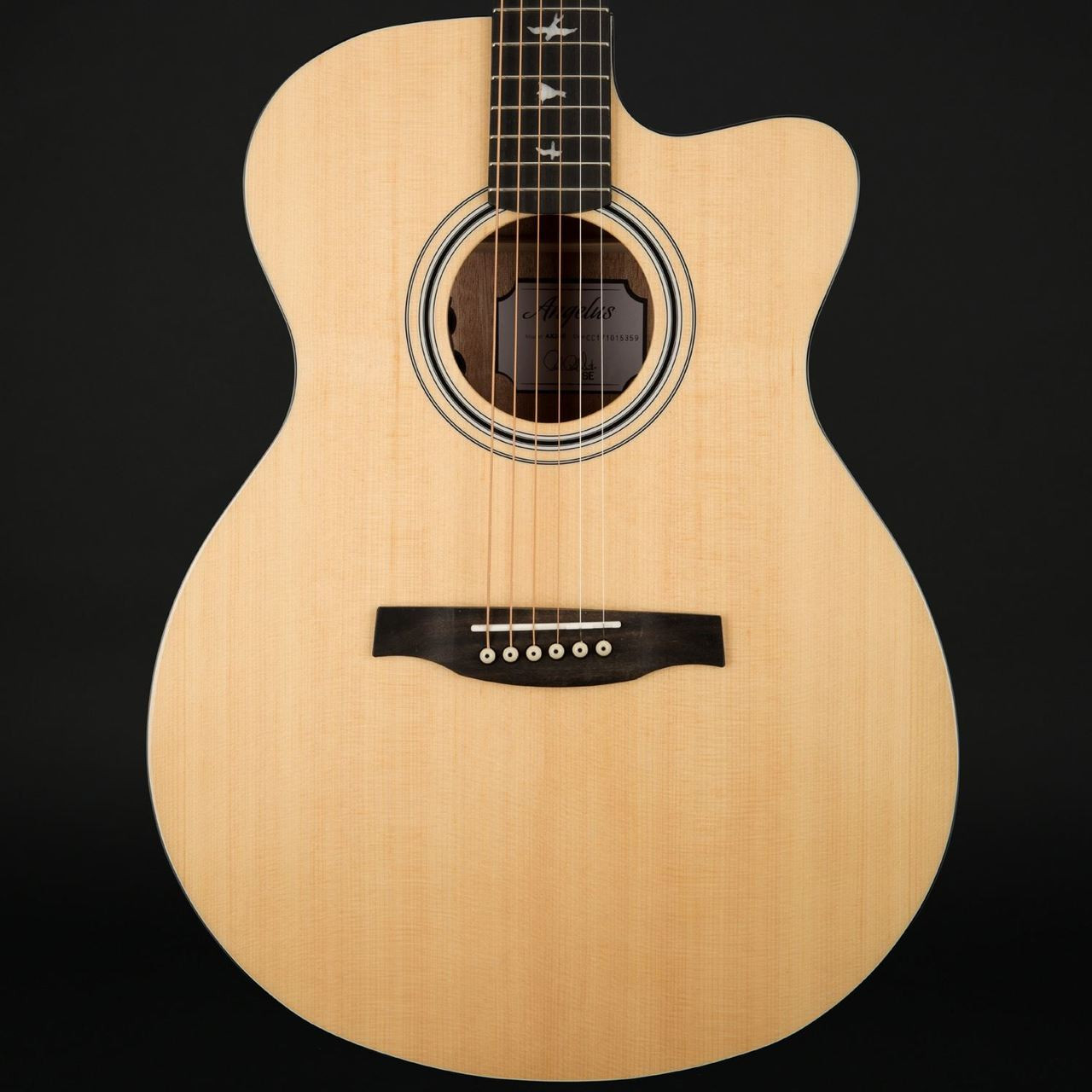 5ff337a545a PRS SE Angelus AXE20E Cutaway Electro Acoustic with Hard Case. Image 1.  Click to expand. Hover over image to zoom. Image 1 ...