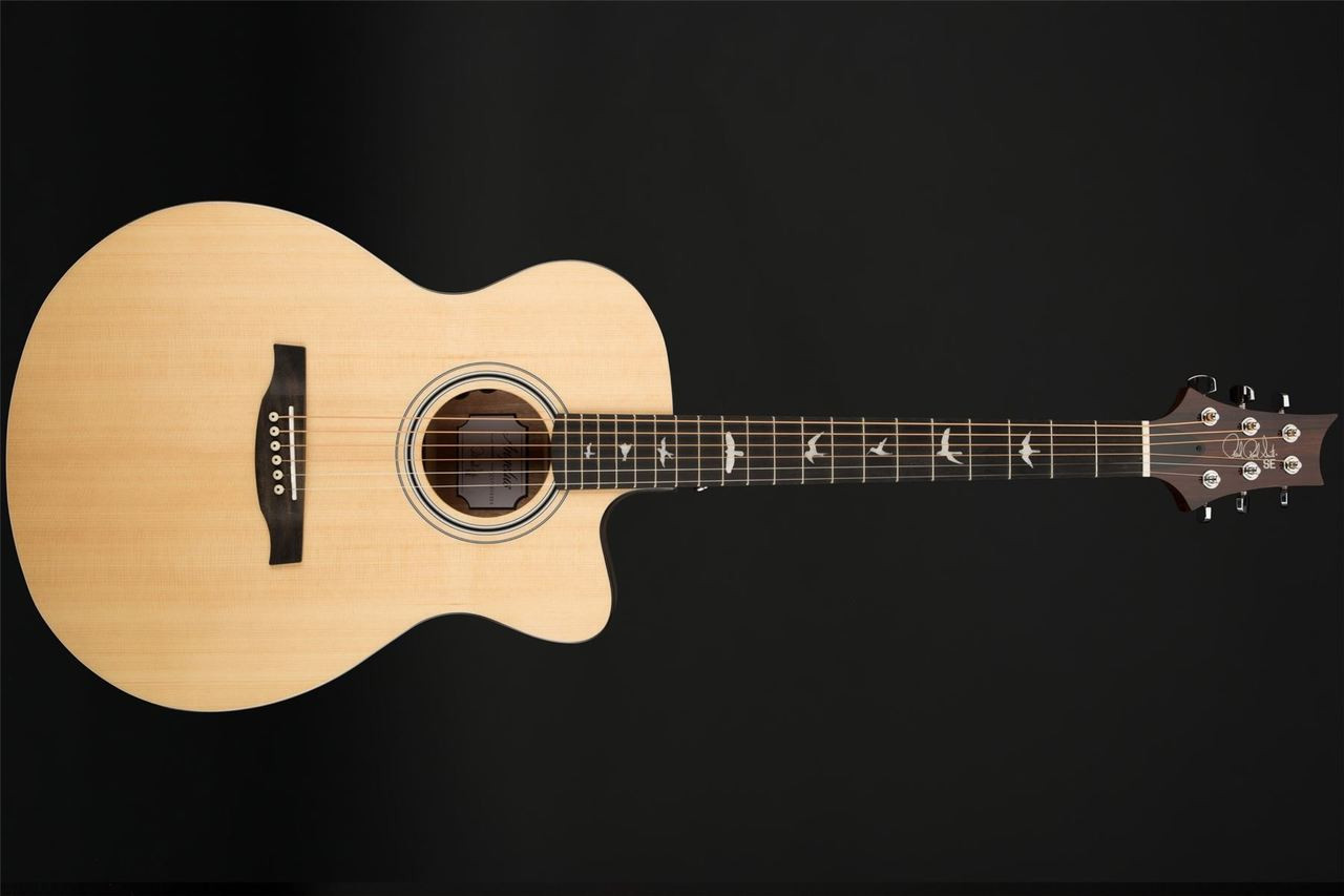 eb5d74710f9 PRS SE Angelus AXE20E Cutaway Electro Acoustic with Hard Case. Image 1.  Click to expand. Hover over image to zoom. Image 1; Image 2; Image 3 ...