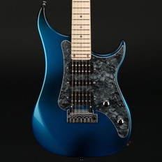 Vigier Excalibur Supra in Urban Blue, Maple Neck with Case #180065