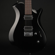 Relish Shady Mary Wooden Frame Electric Guitar in Black #3027