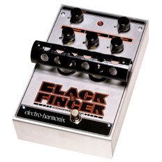 Electro Harmonix Black Finger Optical Tube Compressor Pedal