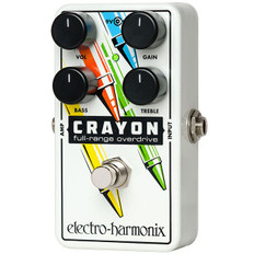 Electro Harmonix Crayon 76 Full Range Overdrive Pedal