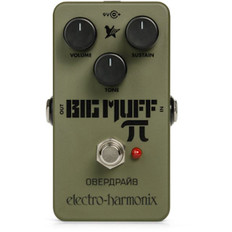 Electro Harmonix Green Russian Big Muff Pi Distortion/Sustainer Pedal