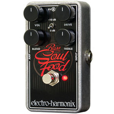 Electro Harmonix Bass Soul Food Transparent Overdrive Pedal for Bass