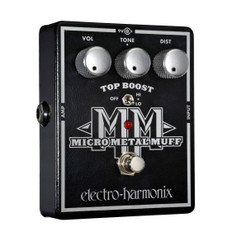 Electro Harmonix Micro Metal Muff Distortion With Top Boost Pedal