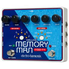 Electro Harmonix Deluxe Memory Man W/Tap Tempo 1100ms Analog Delay Pedal